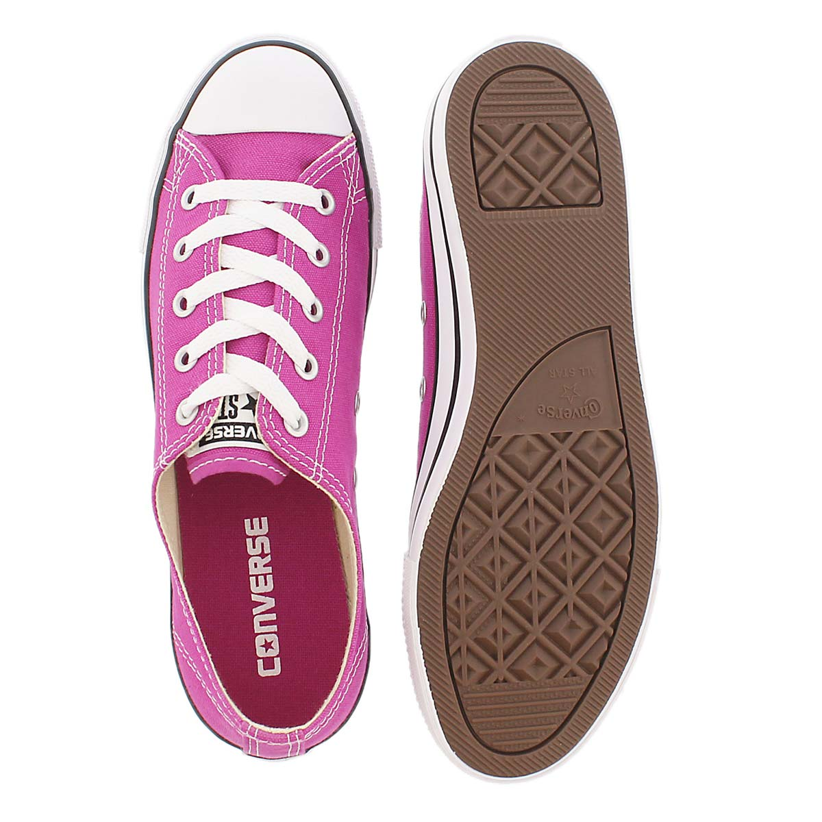 Lds CT AllStar Dainty Canvas pink oxford