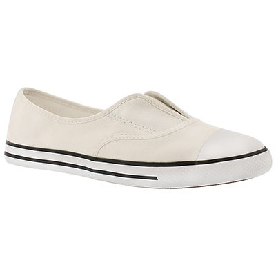 Converse Women's CT ALL STAR COVE CANVAS white slip ons