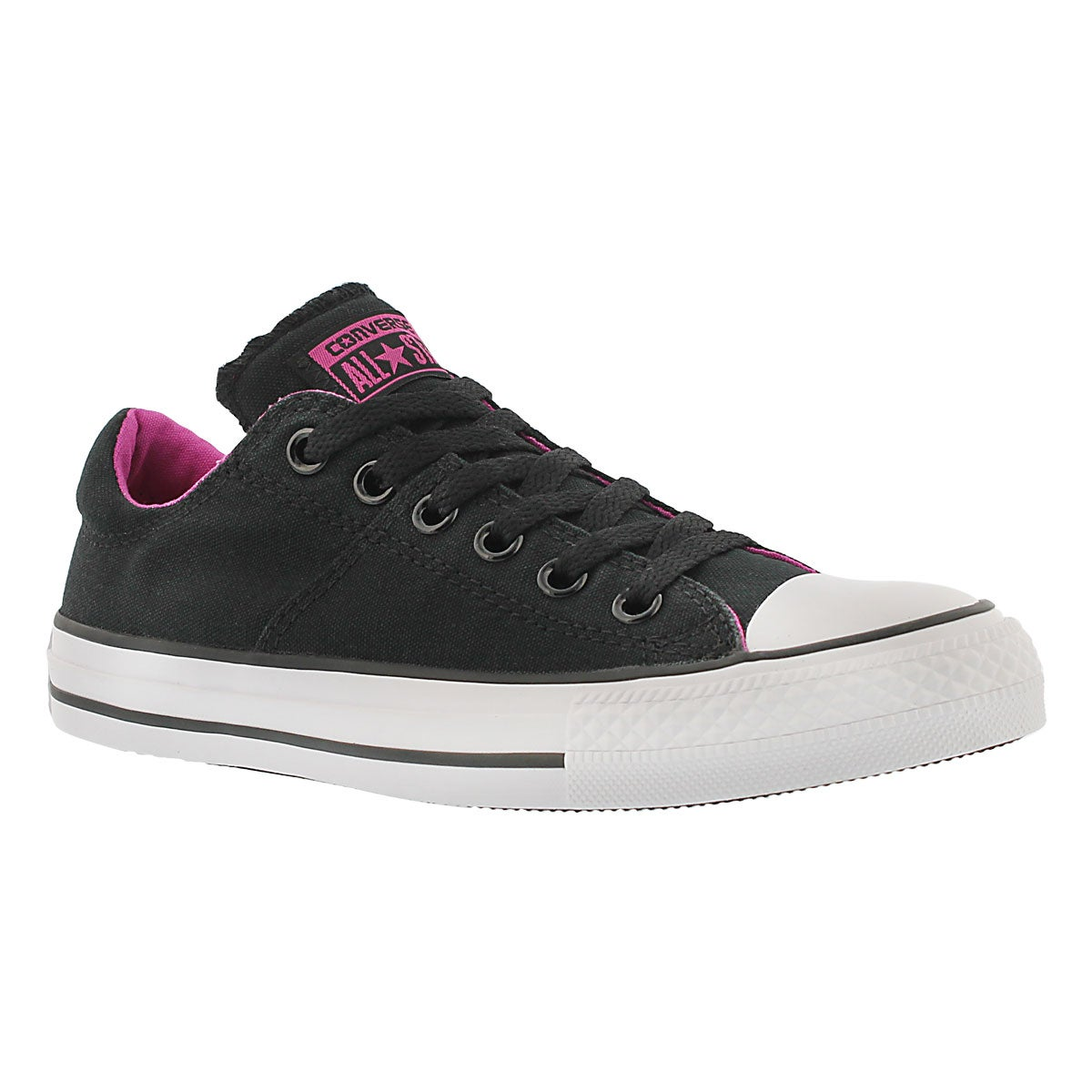 Lds CT A/S Madison blk/pink ox