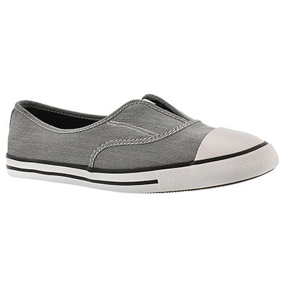 Lds CT AllStar Cove blk/wht slip on