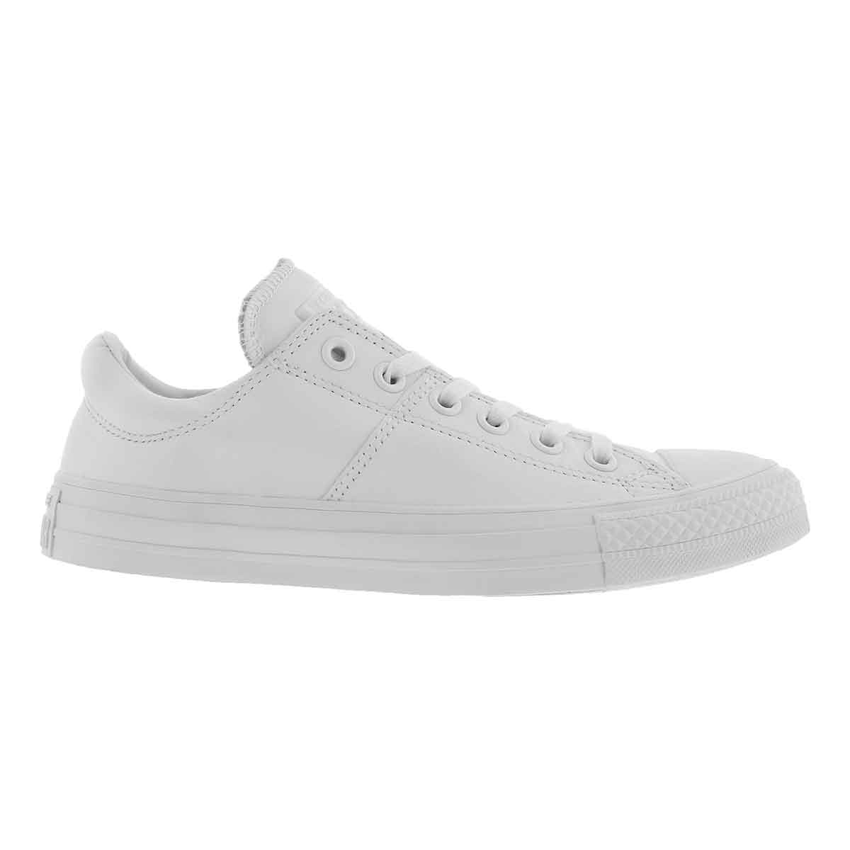 Lds CTAS Madison Leather wht snkr