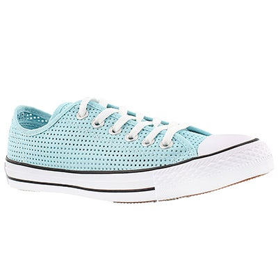 Converse Women's CT PERFORATED CANVAS motel pool oxfords