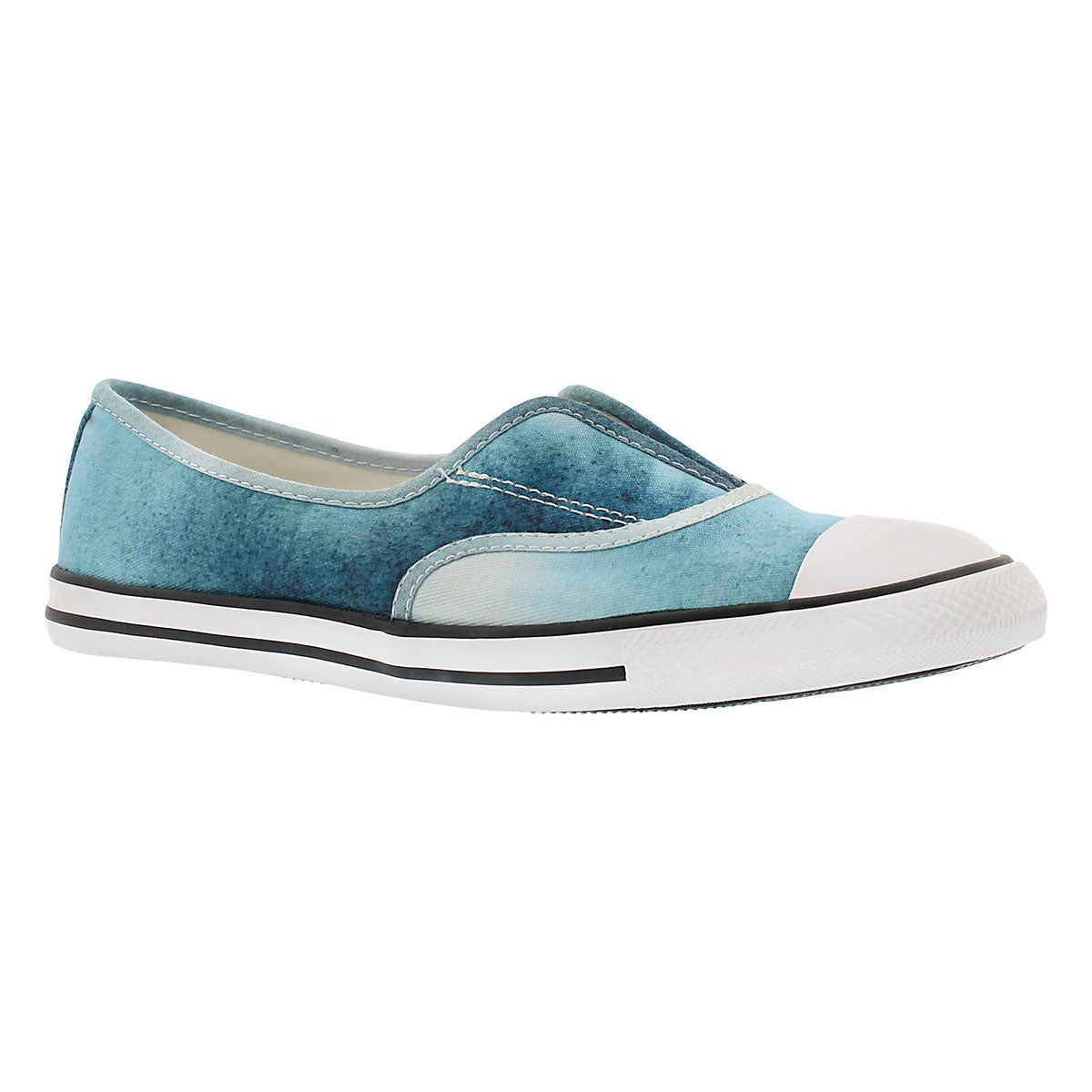 Lds CT AllStar Cove ambient blue slip on
