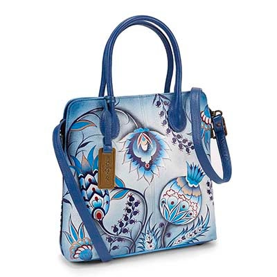 Anuschka Women's BEWITCHING BLUES convertible tote