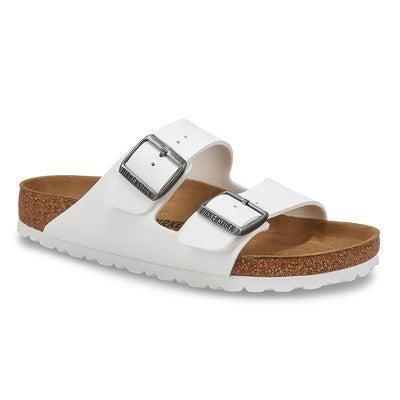Sandales 2 brides Arizona, blanc, fem