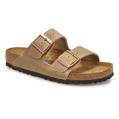 Birkenstock Women's ARIZONA SF tobacco 2 strap sandals