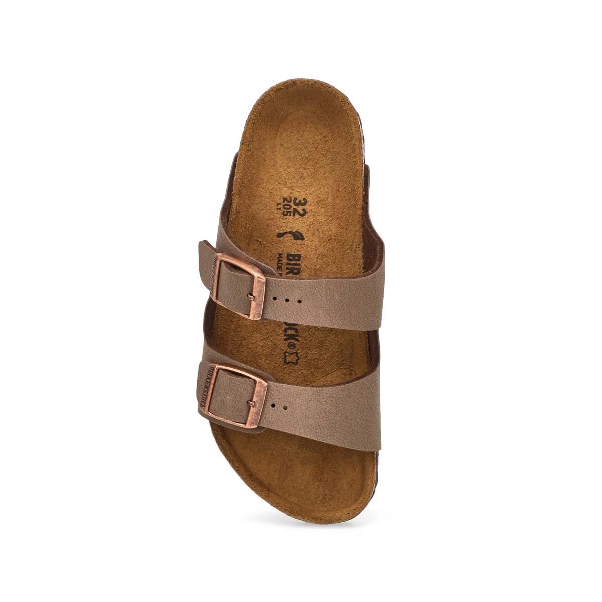 Kds Arizona BF mocha 2 strap sandal-N