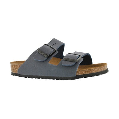 Birkenstock Kids' ARIZONA navy BF 2 strap sandals - Narrow