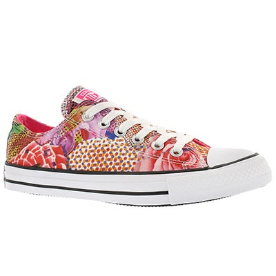 Converse Women's CT ALL STAR DIGITAL FLOWER PRINT sneakers