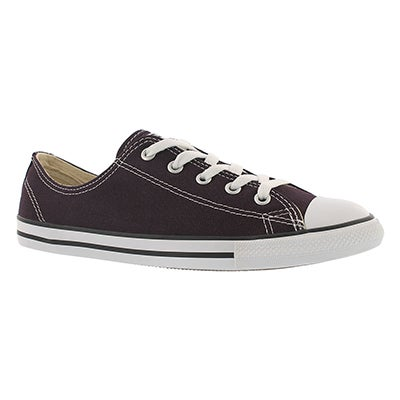 Converse Women's CT ALL STAR CANVAS blk cherry sneakers