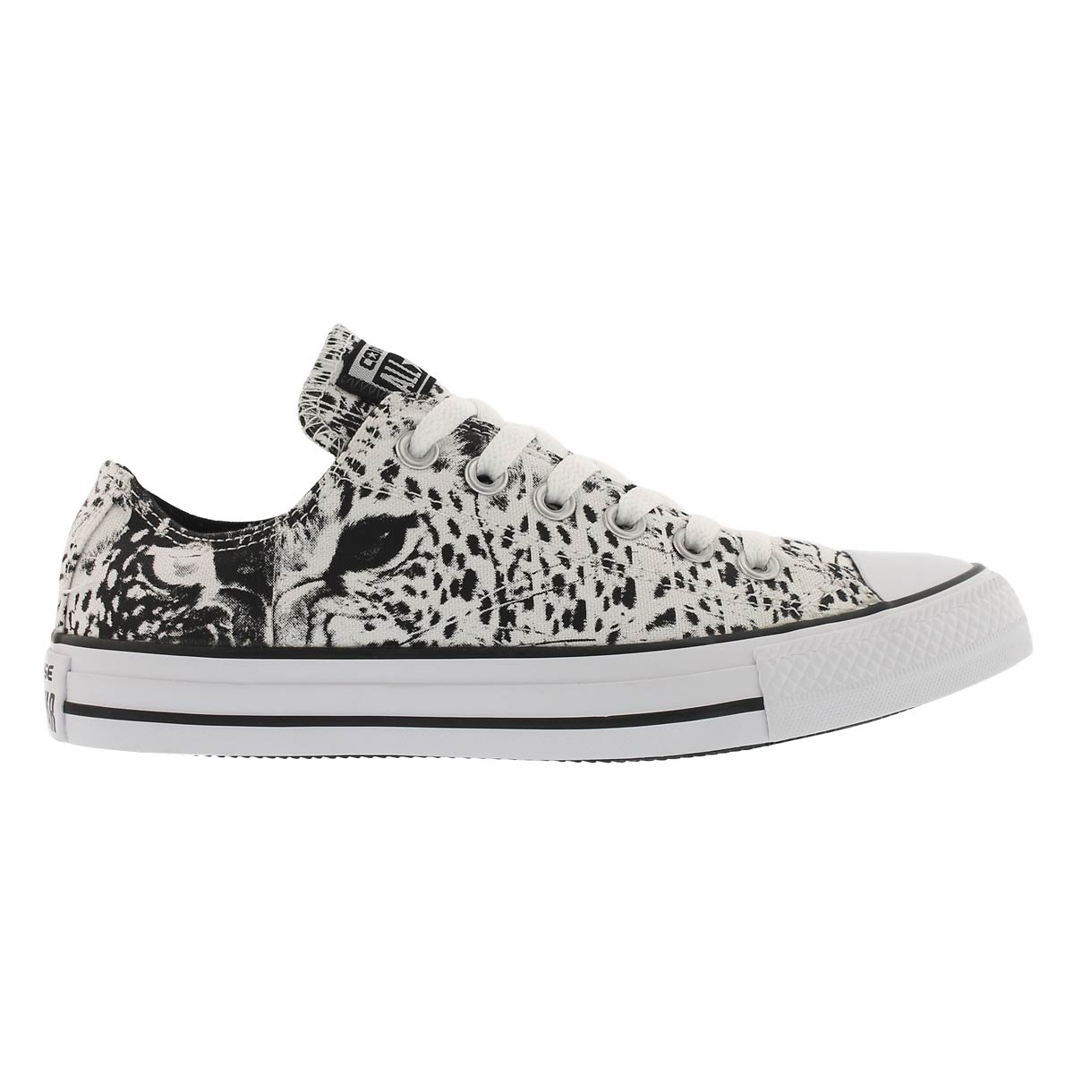 Espadr CT A/S Animal Print, blc/nr, fem