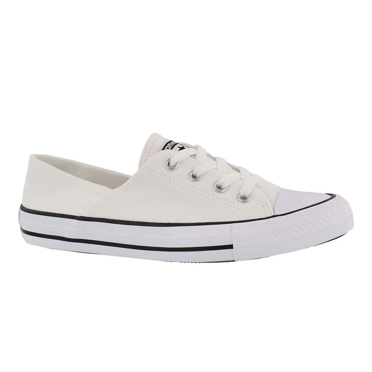 Women's CT ALL STAR CORAL white sneakers