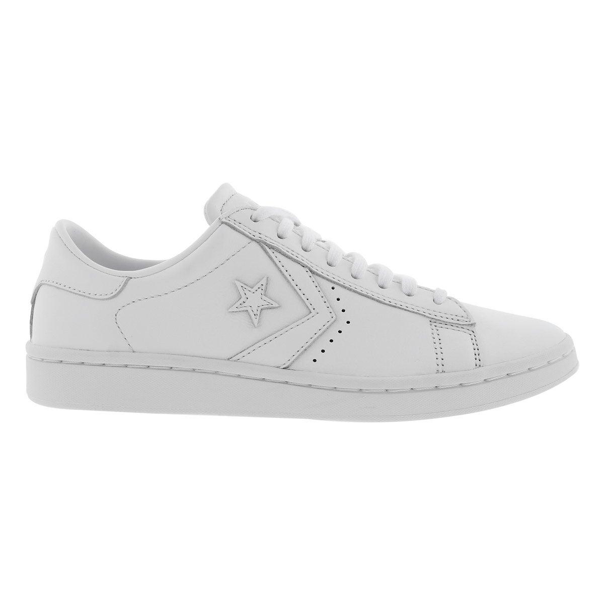 Lds PL LP wht/wht sneaker