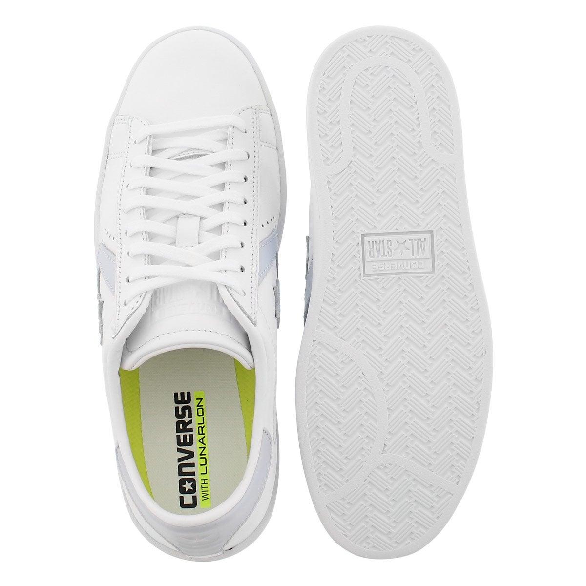 Lds PL LP wht/porpoise sneaker