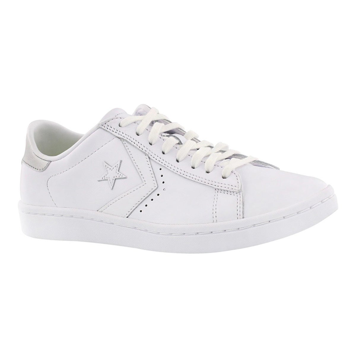 Women's PL LP white/silver metallic sneakers