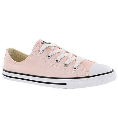 Converse Women's CT ALL STAR DAINTY vapor pink oxfords