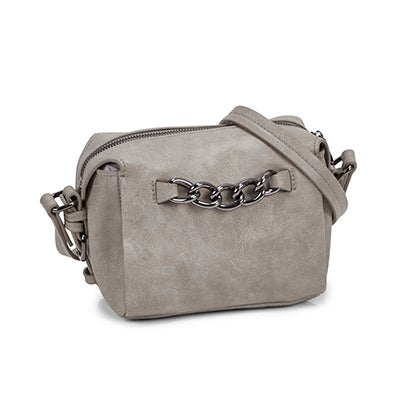 Co-Lab Women's 5573 SUMMER CHAIN light grey cross body