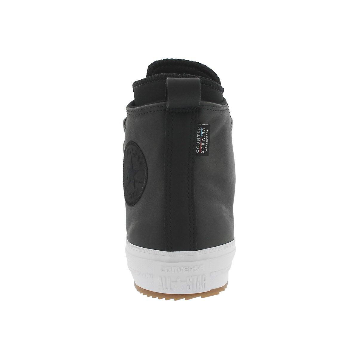 Lds CT A/S black wtpf lthr boot