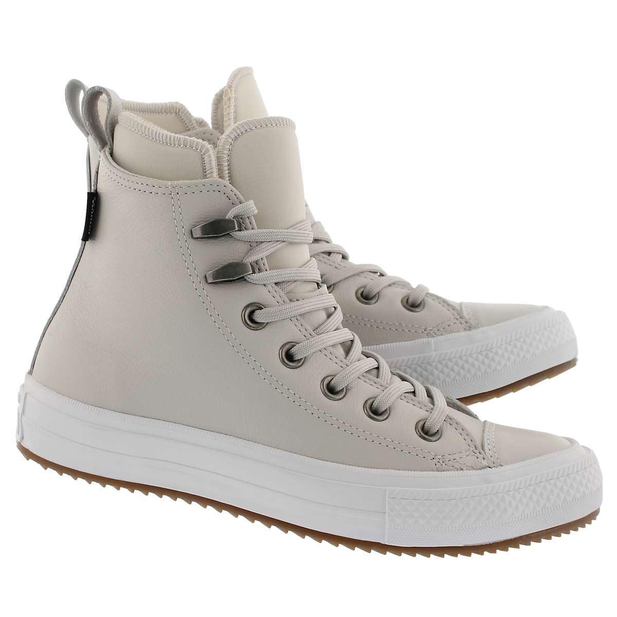 Lds CT A/S pale putty lthr wtpf boot