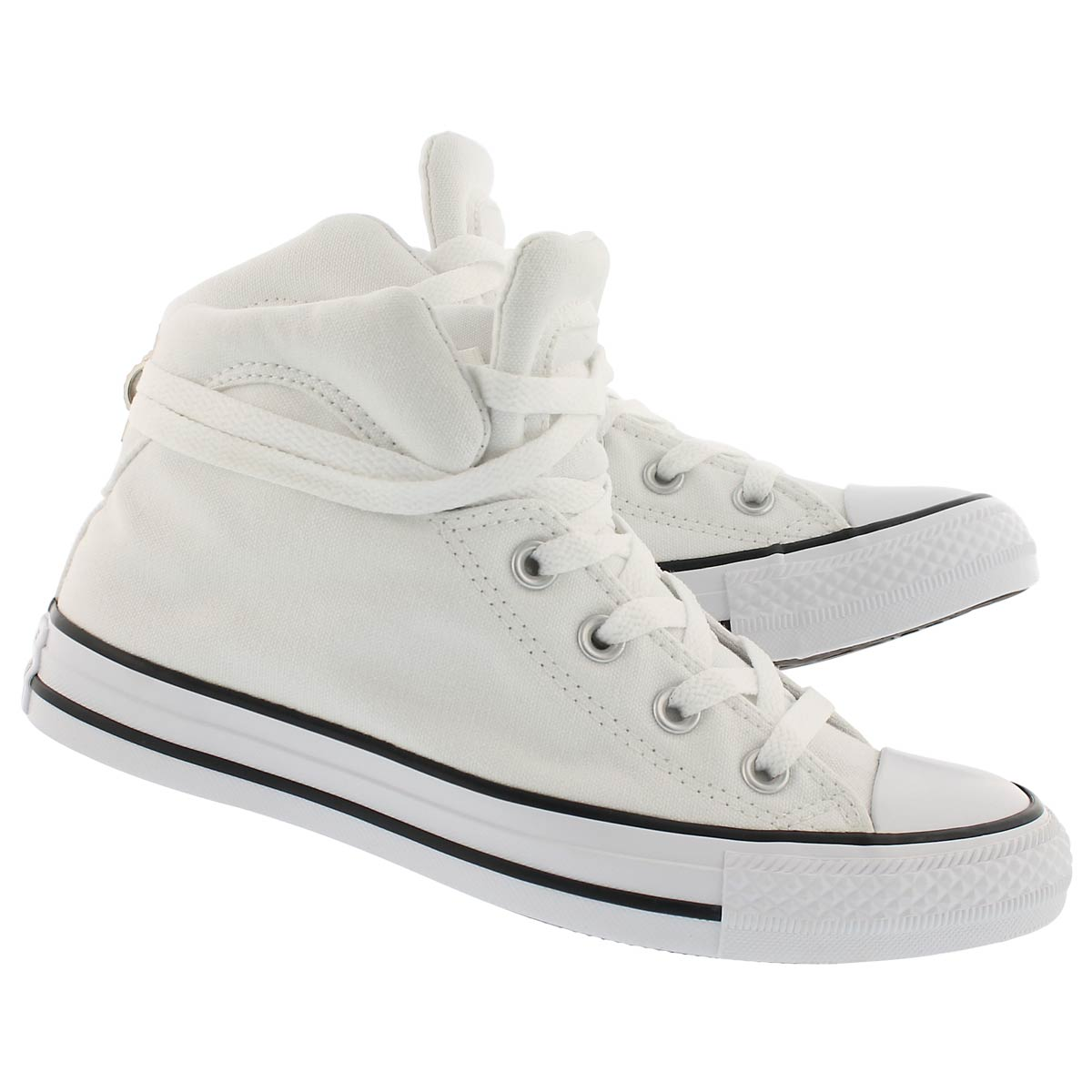 Lds CT A/S Brookline white high top