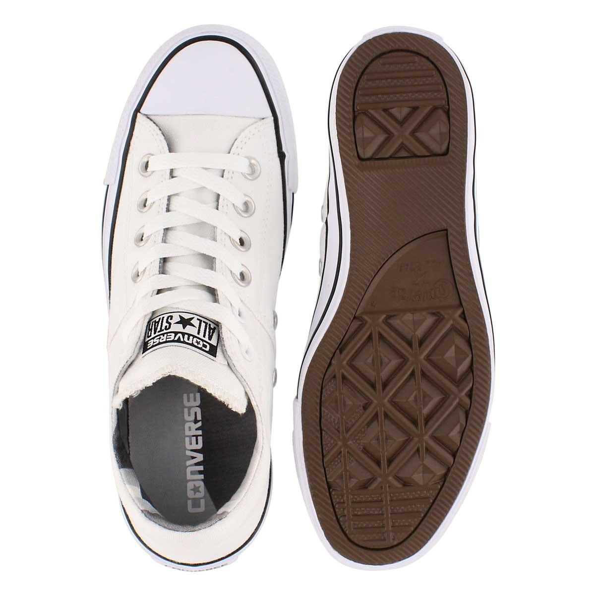 Lds CT A/S Madison Geometric wht sneaker