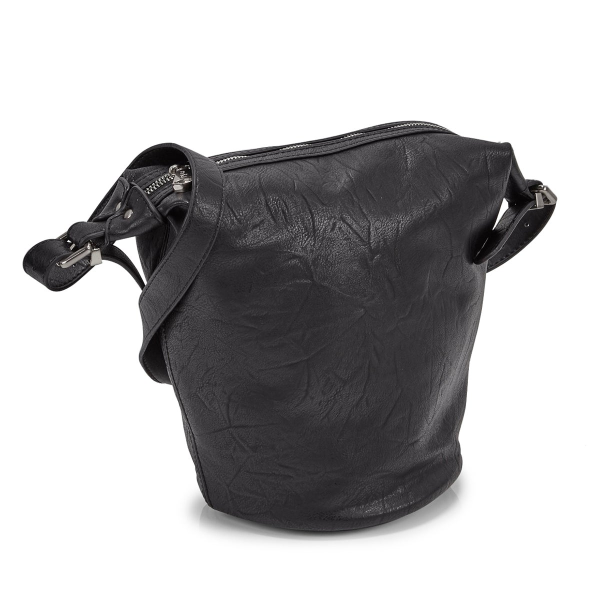 Women's 5580 SUMMER BUCKET black hobo bag