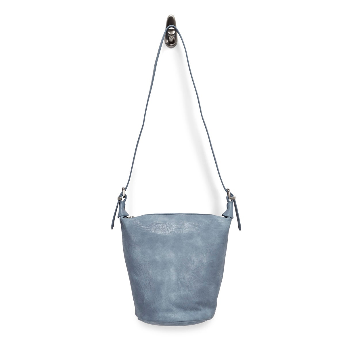 Lds Summer Bucket blue hobo bag