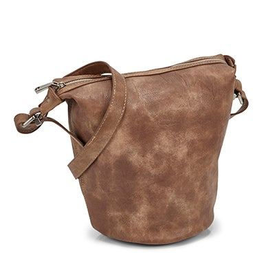 Co-Lab Women's 5580 SUMMER BUCKET taupe hobo bag