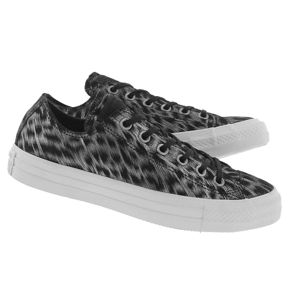 Lds CT A/S Classic Animal print blk snkr