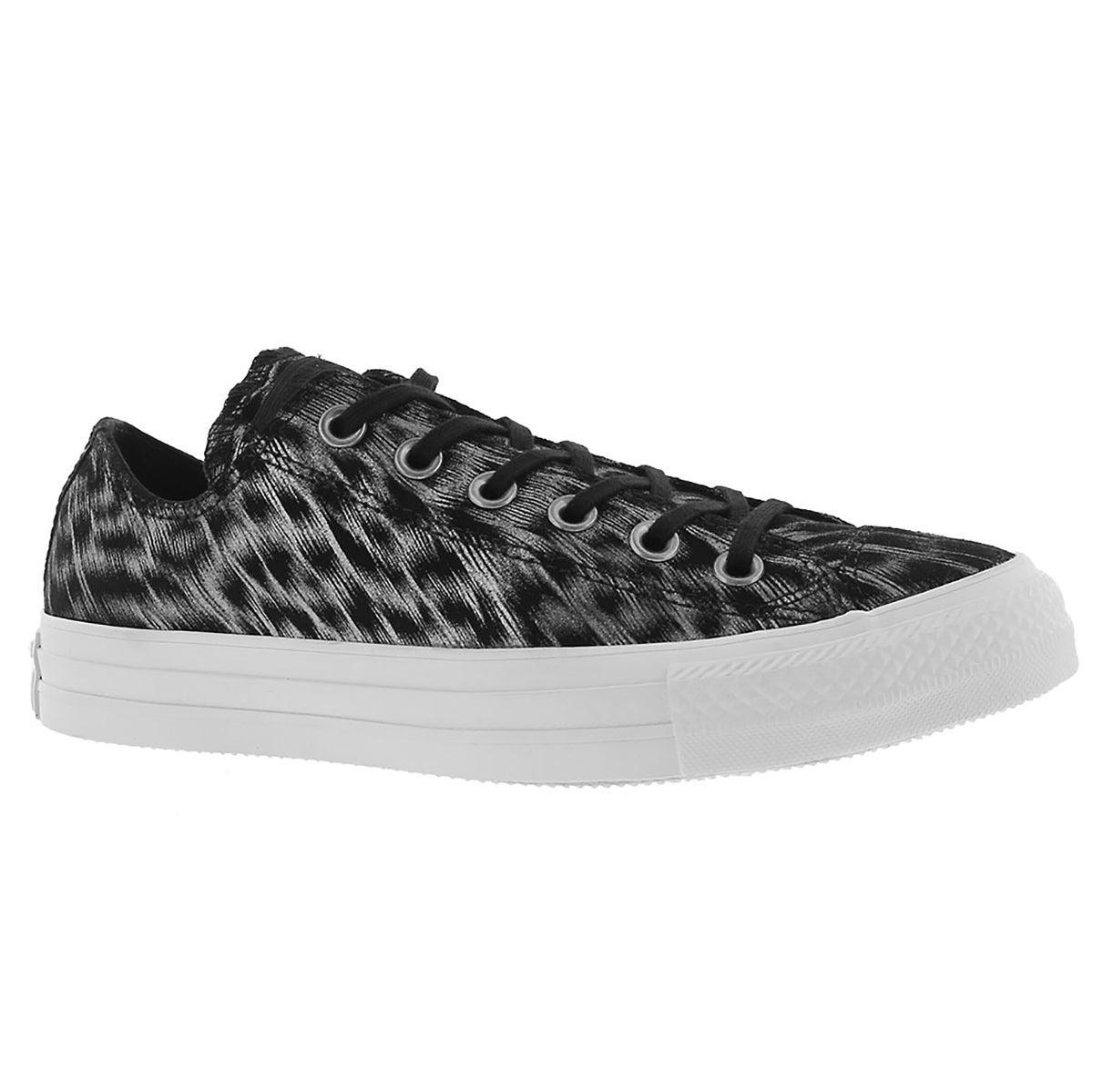 Women's CT ALL STAR ANIMAL print black sneakers