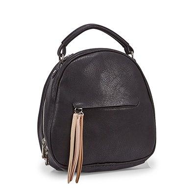 Lds Tassel black backpack