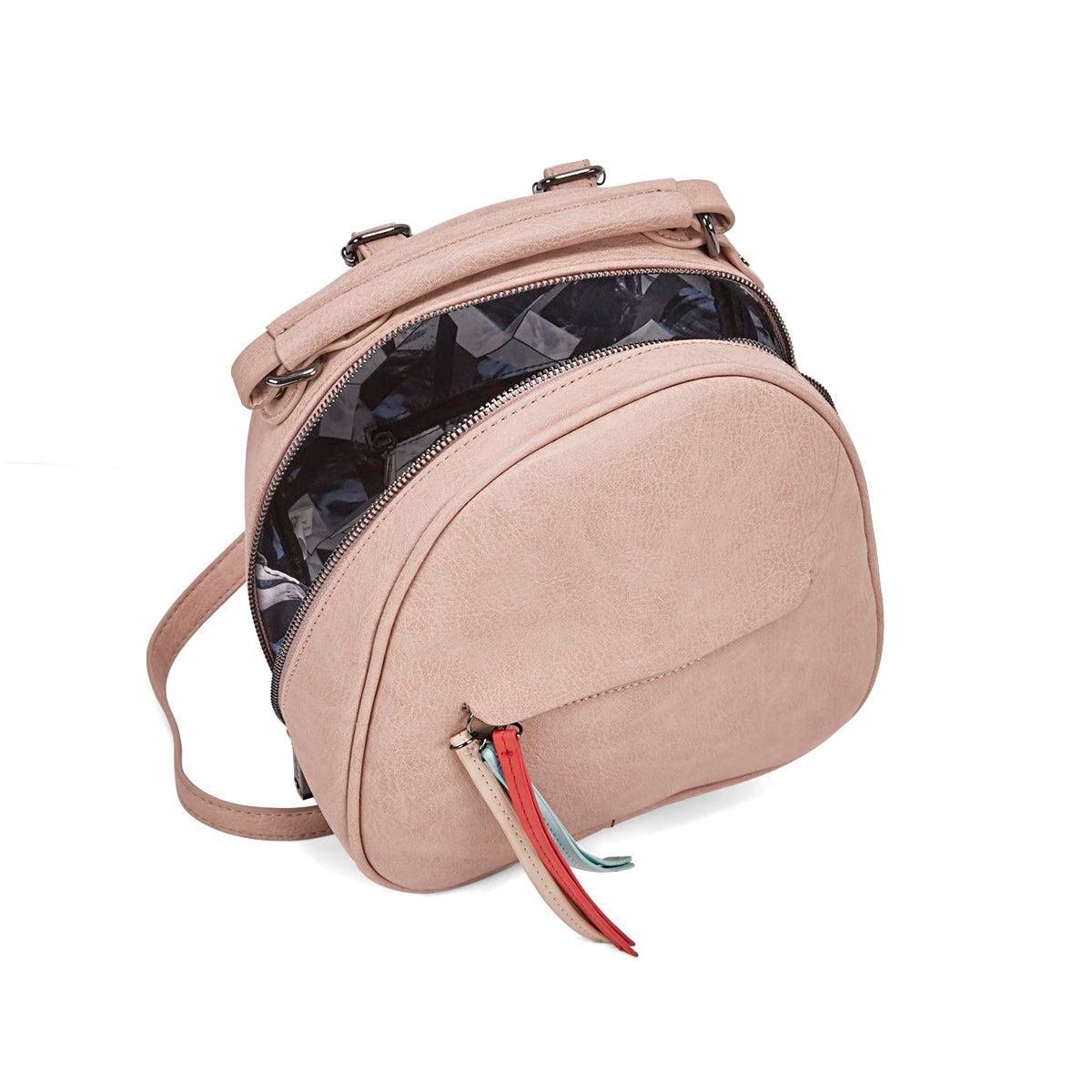 Lds Tassel blush backpack