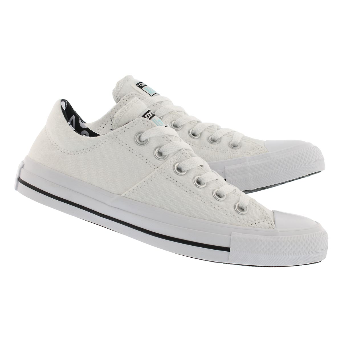 Lds CT AS Madison wht/blk sneaker