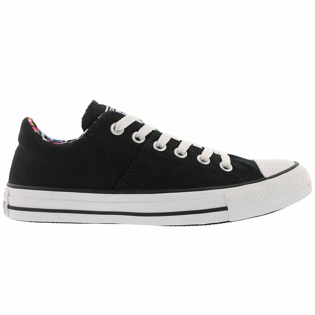 Lds CT AS Madison blk/purple sneaker