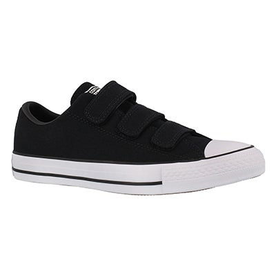 Lds CTAS 3V black hook & loop sneaker