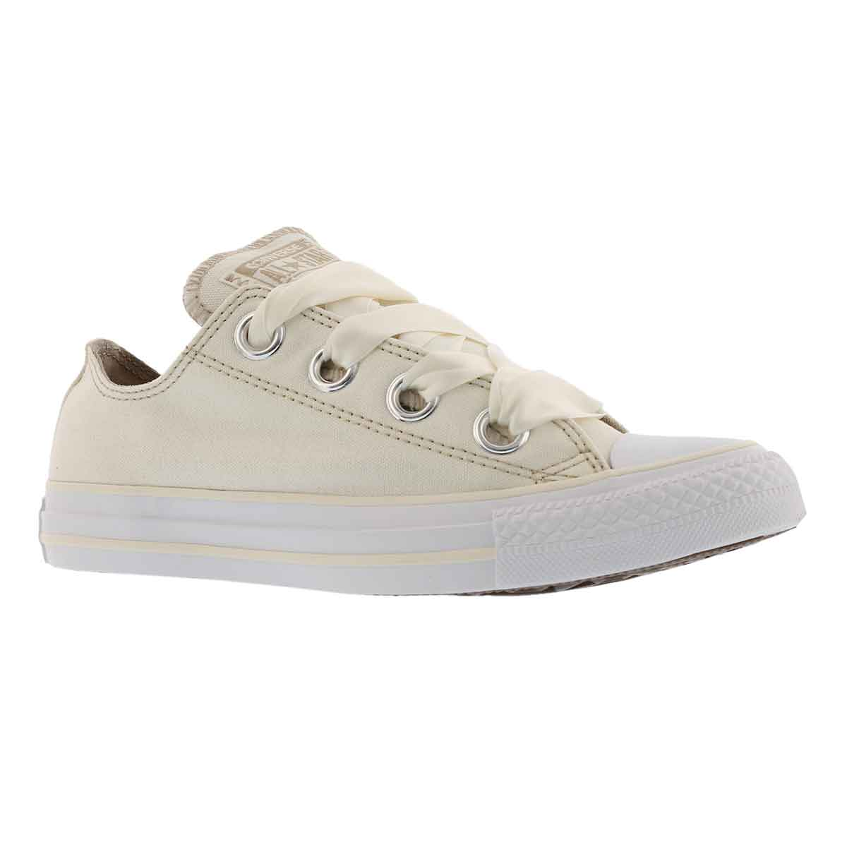 Women's CT ALL STAR BIG EYELETS egret/kki sneakers