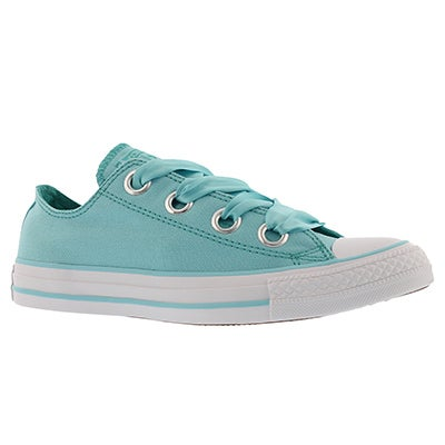 Lds CT AS Big Eyelets bleached aqua snkr