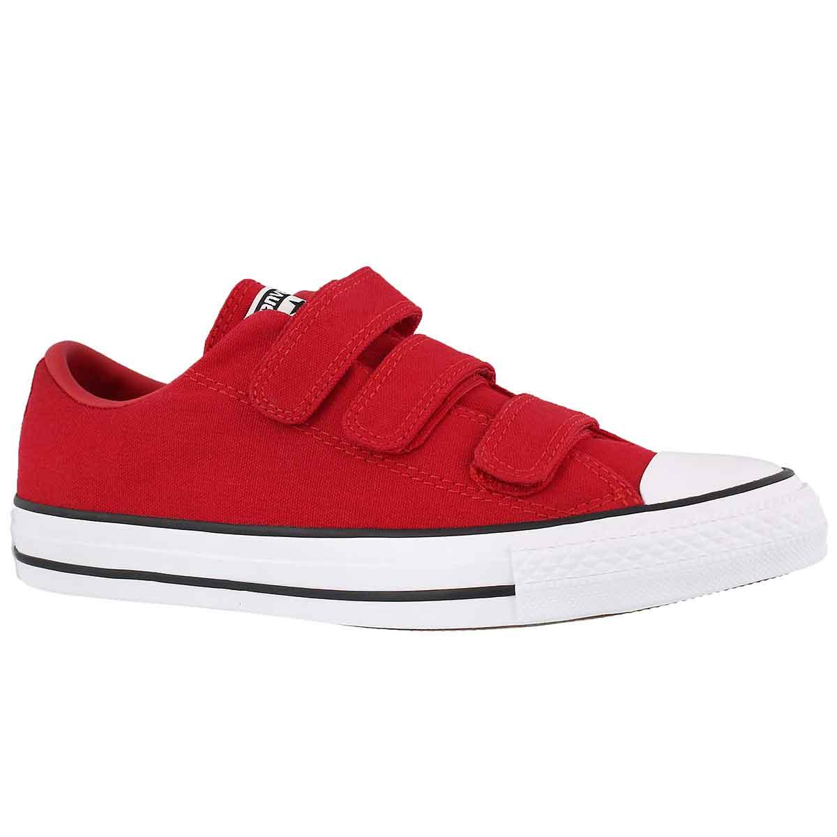 Women's CT ALL STAR 3V red hook & loop sneakers