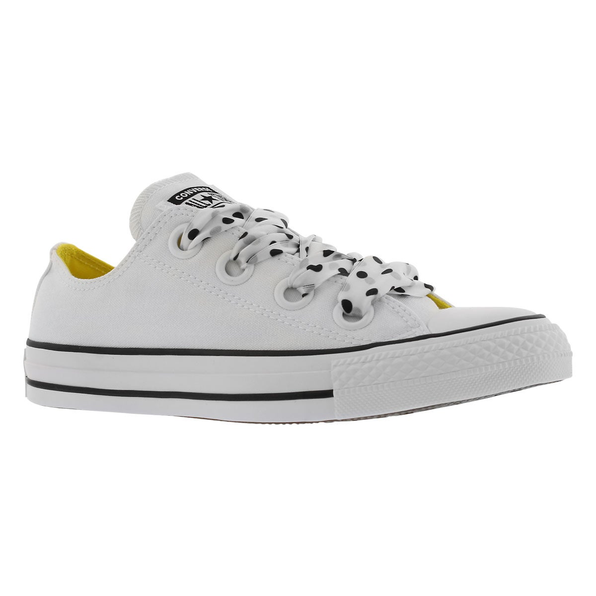 Women's CT ALL STAR BIG EYELETS wht/blk sneakers