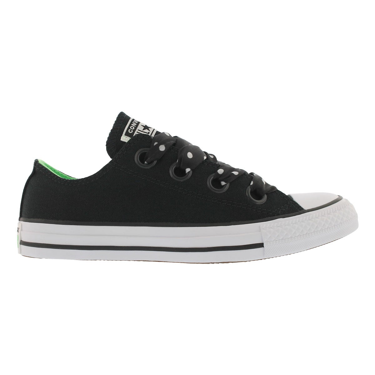 Lds CT A/S Big Eyelets blk/wht sneaker