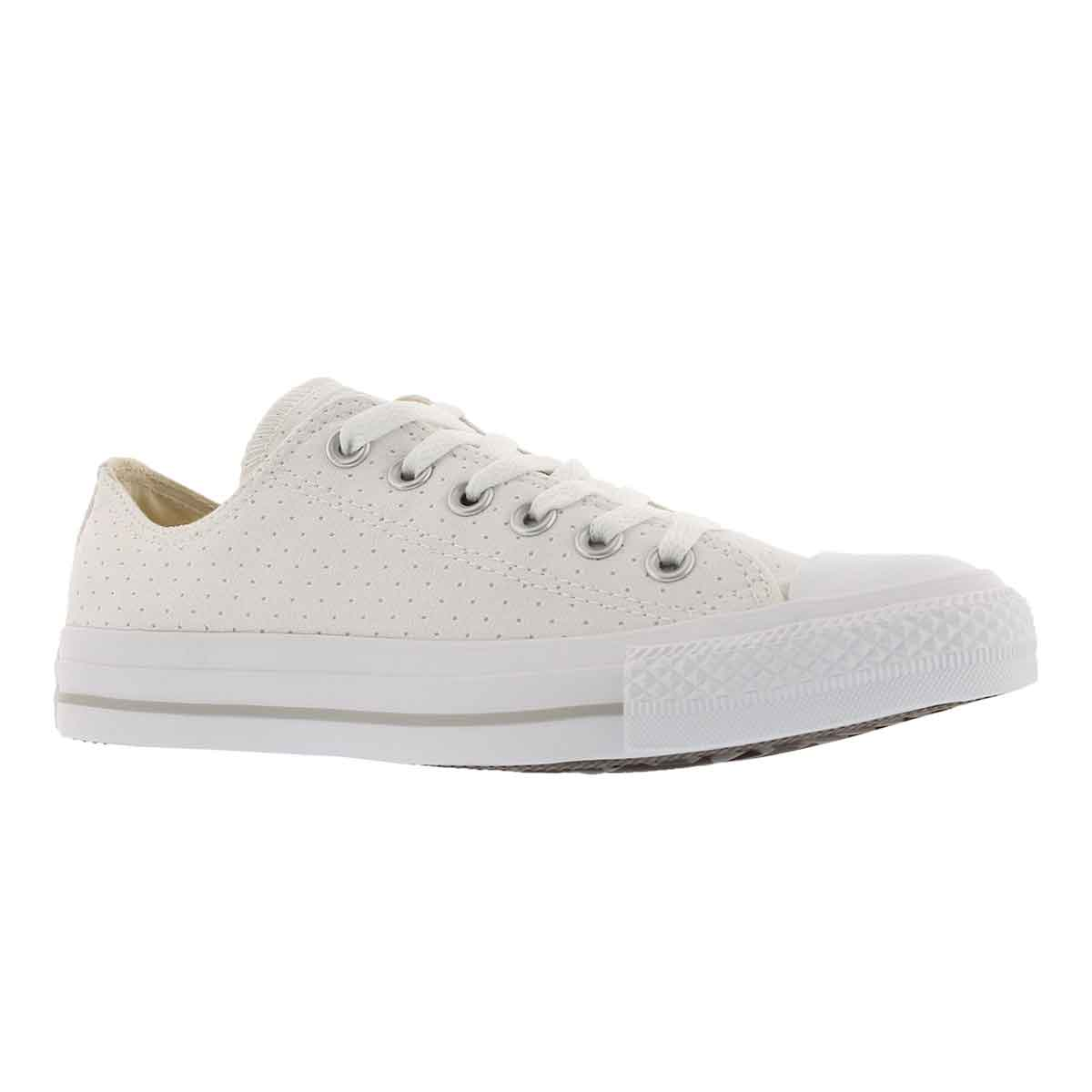 Women's CT ALL STAR PERFORATED white sneakers