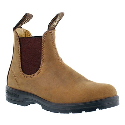Blundstone Unisex 550 SERIES tan pull-on boots - UK SIZING