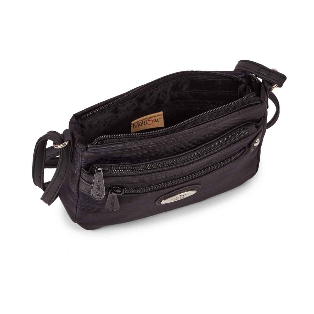 Lds Micro Sleek blk/blk crossbody bag
