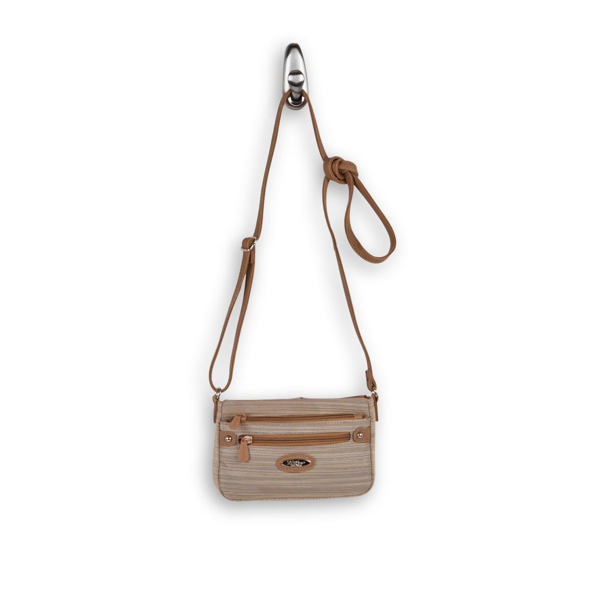 Lds Micro Sleek chino crossbody bag