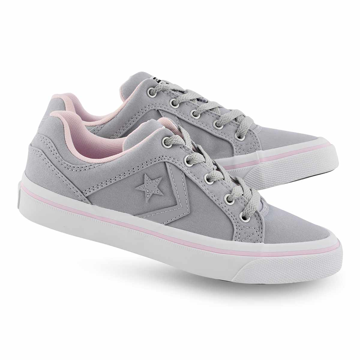 Lds Flyer Pack wolf gry/pink snkr
