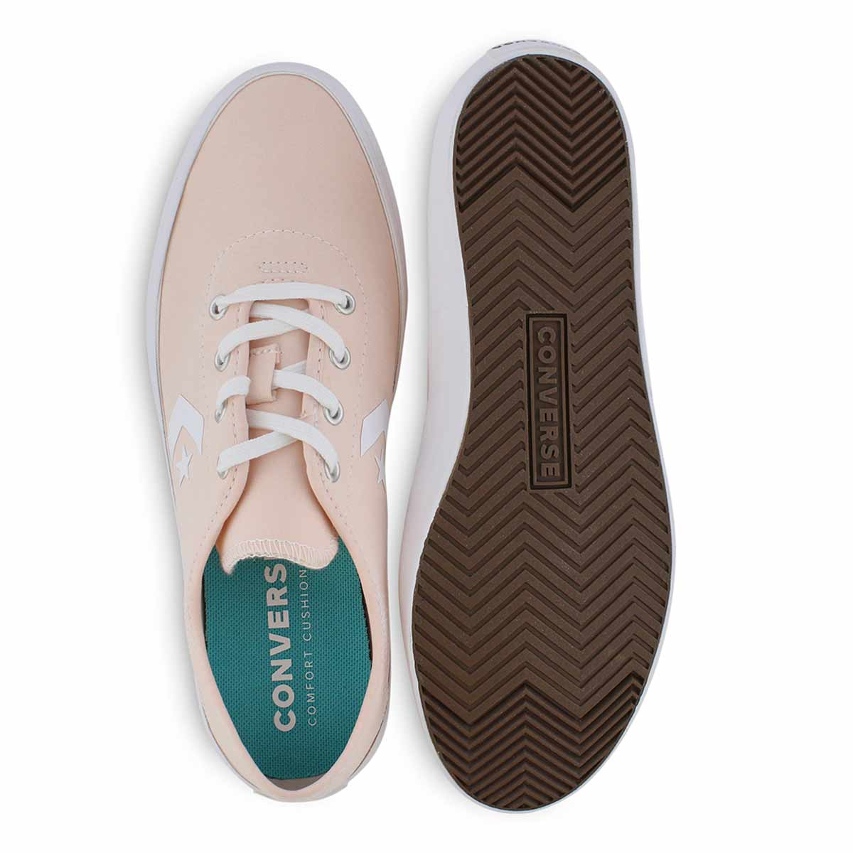 Lds Costa Beach Views washed coral snkr