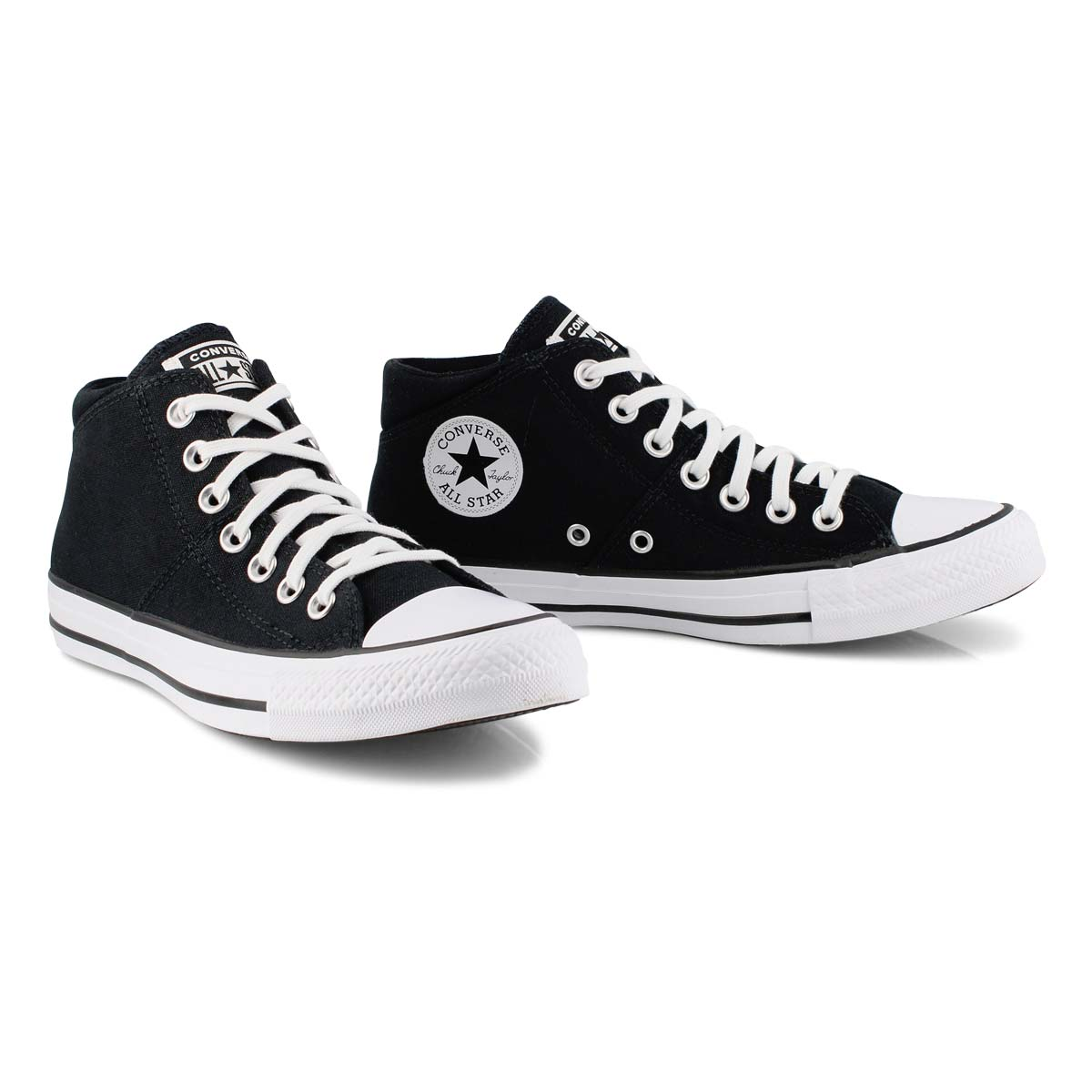 Lds CTAS Madison Mid True Faves blk/wht