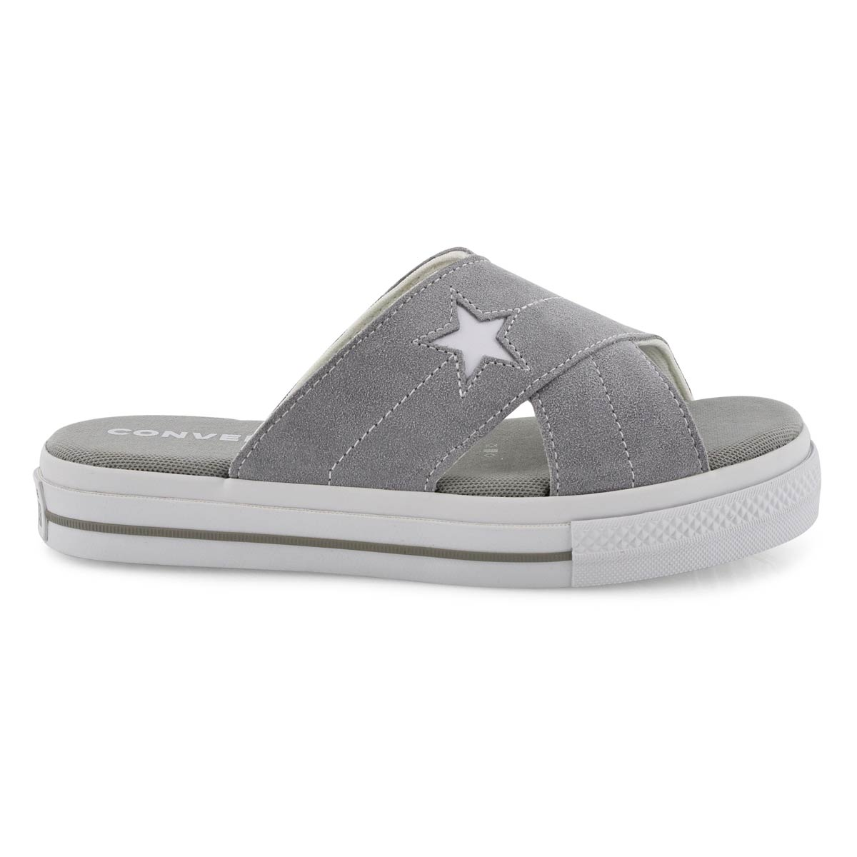 Lds One Star dolphin casual slide sandal