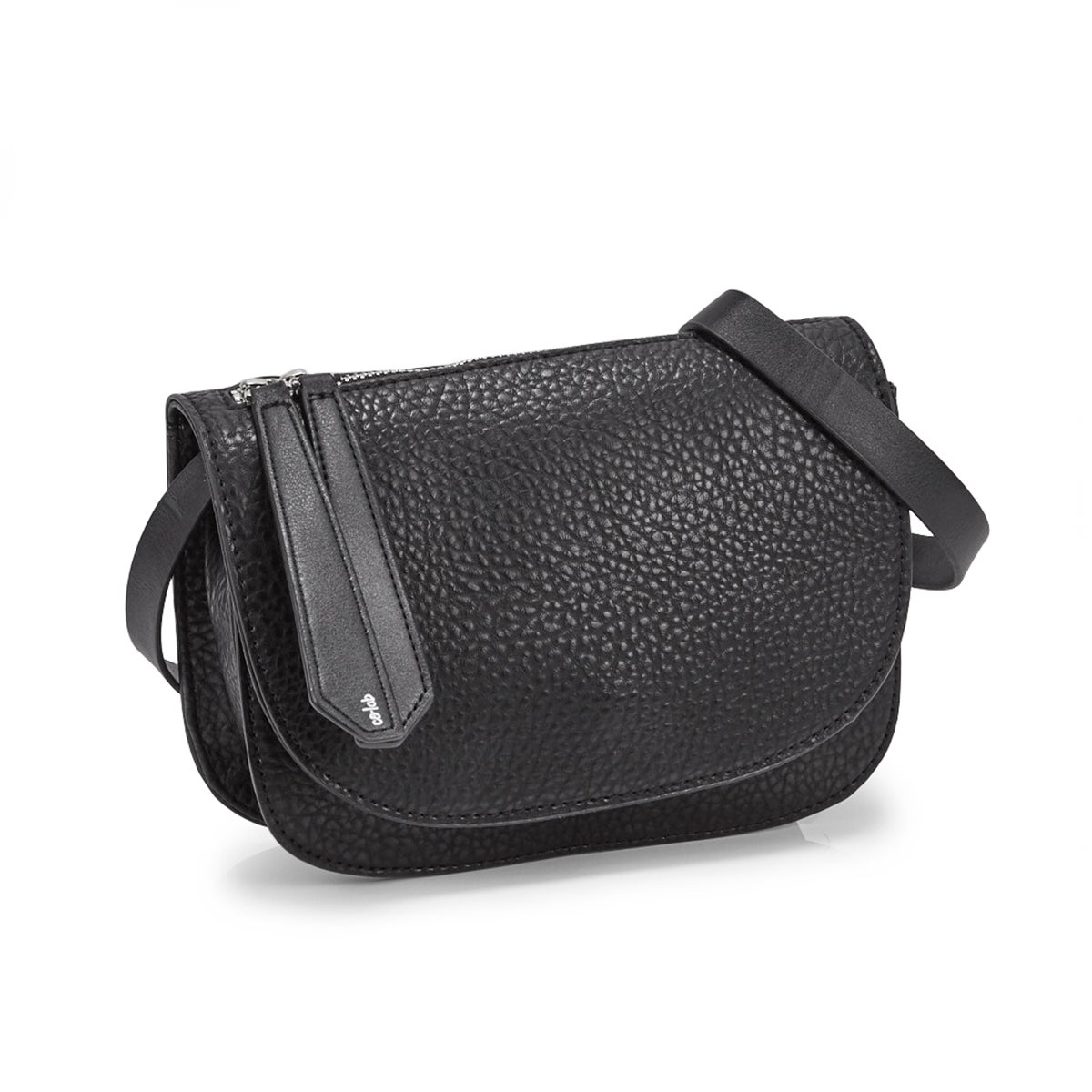 Women's 5642 MINI SADDLE black cross body bag