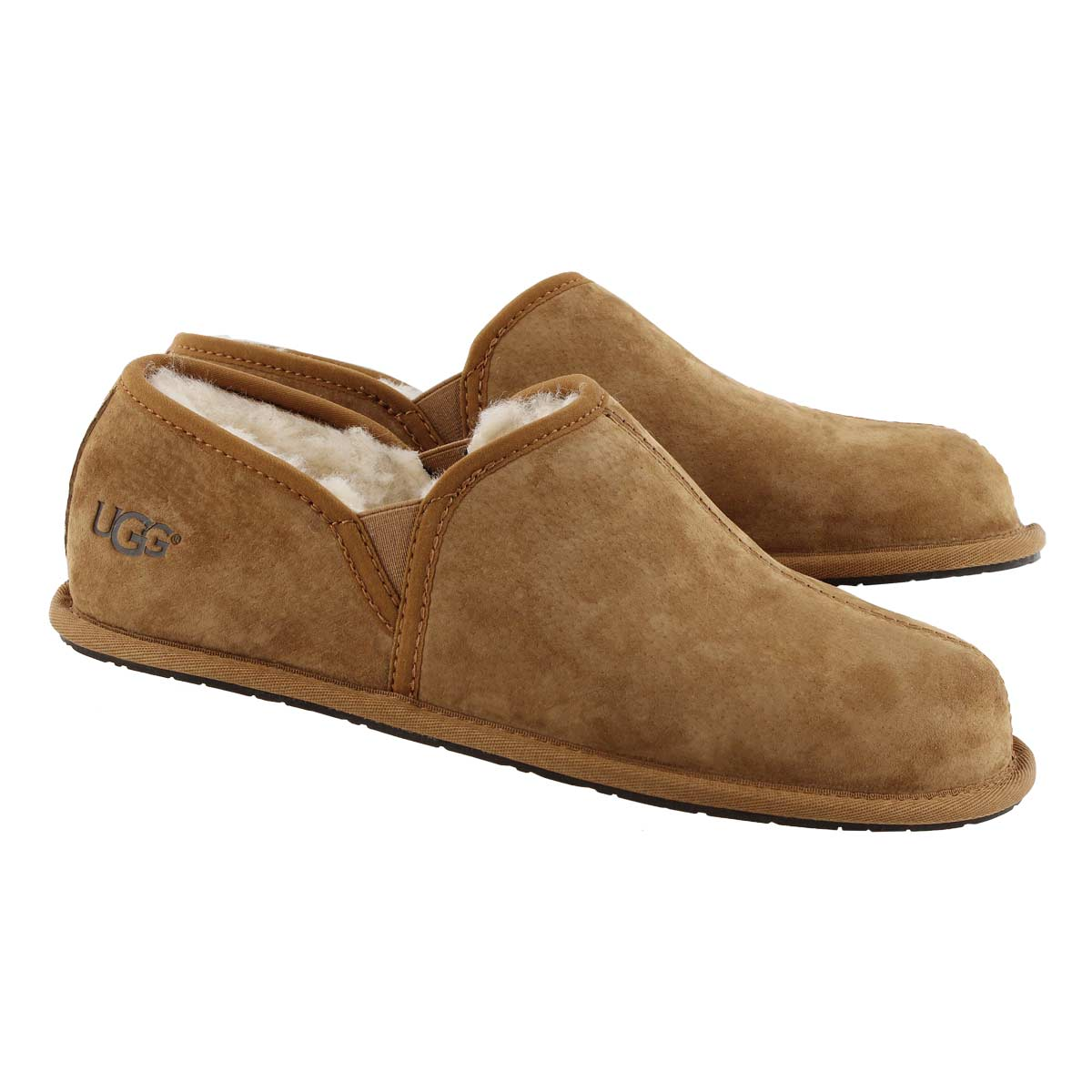 Mns Scuff Romeo II che sheepskin slipper